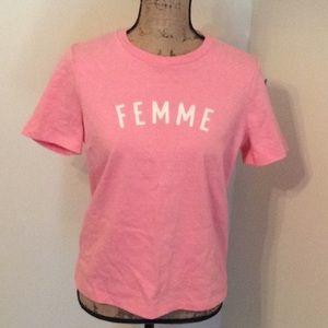 Made well femme t-shirt NWT